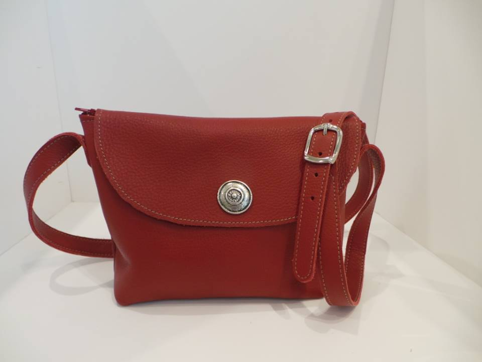 sac pochette en cuir Christies