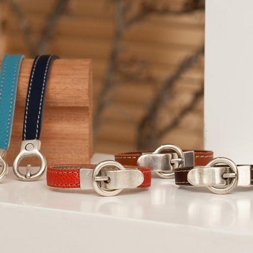 Bracelet boucle - Cuir et Création