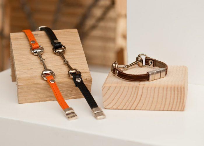 Bracelet mors - Cuir et Création
