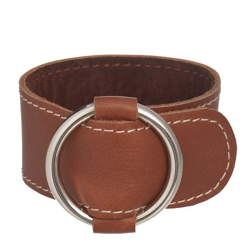 Bracelet cuir et creation manchette boucle